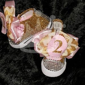 7f3f4657c10188 Converse Shoes - Custom glitter converse